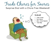 Trade Chores for Snores