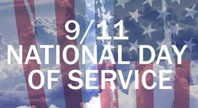 9/11 national day of service banner