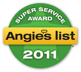 Super Service Award Angies List 2011